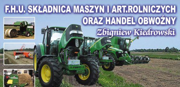 Składnica Maszyn i Artykułów Rolniczych Kościerzyna Zbigniew Kiedrowski