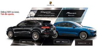 Jazdy próbne – Porsche Macan i Porsche Cayenne Platinum Edition